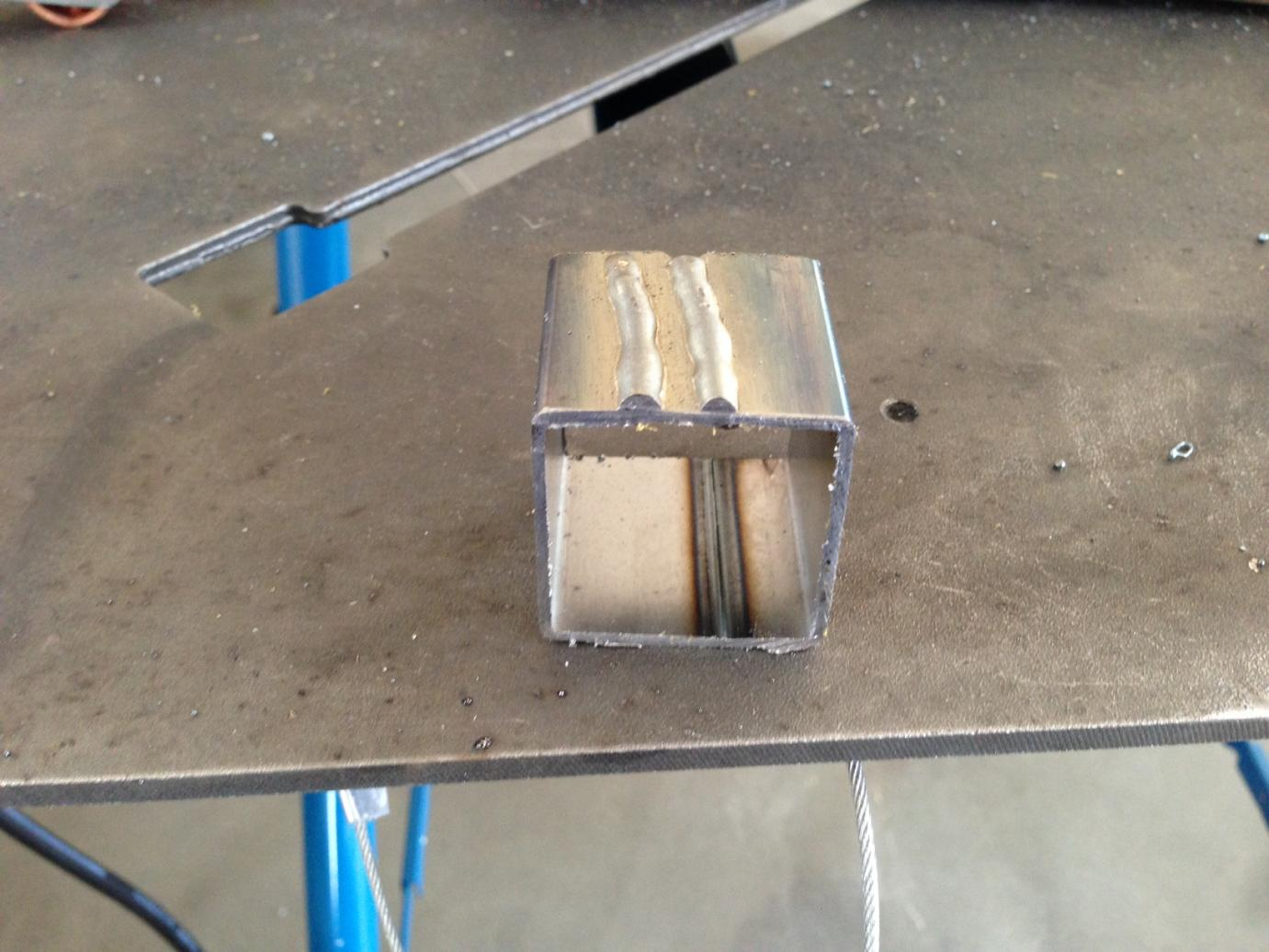 Newbie with first welds from the IMIG 200