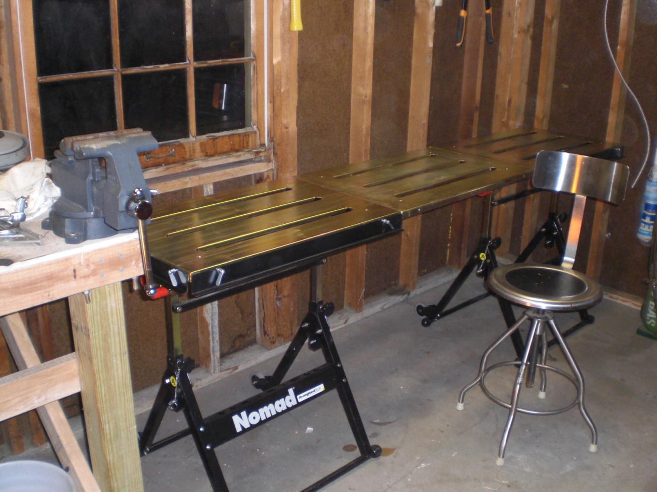 Project 1 Strong Hands Nomad Welding Table Assembly