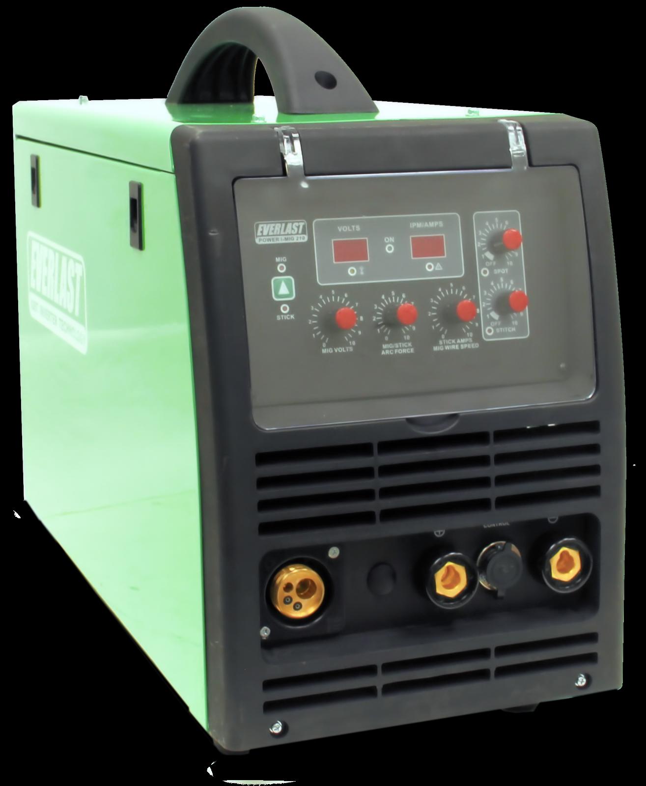 Power i-MIG 210 - MIG Welders | Everlast Generators