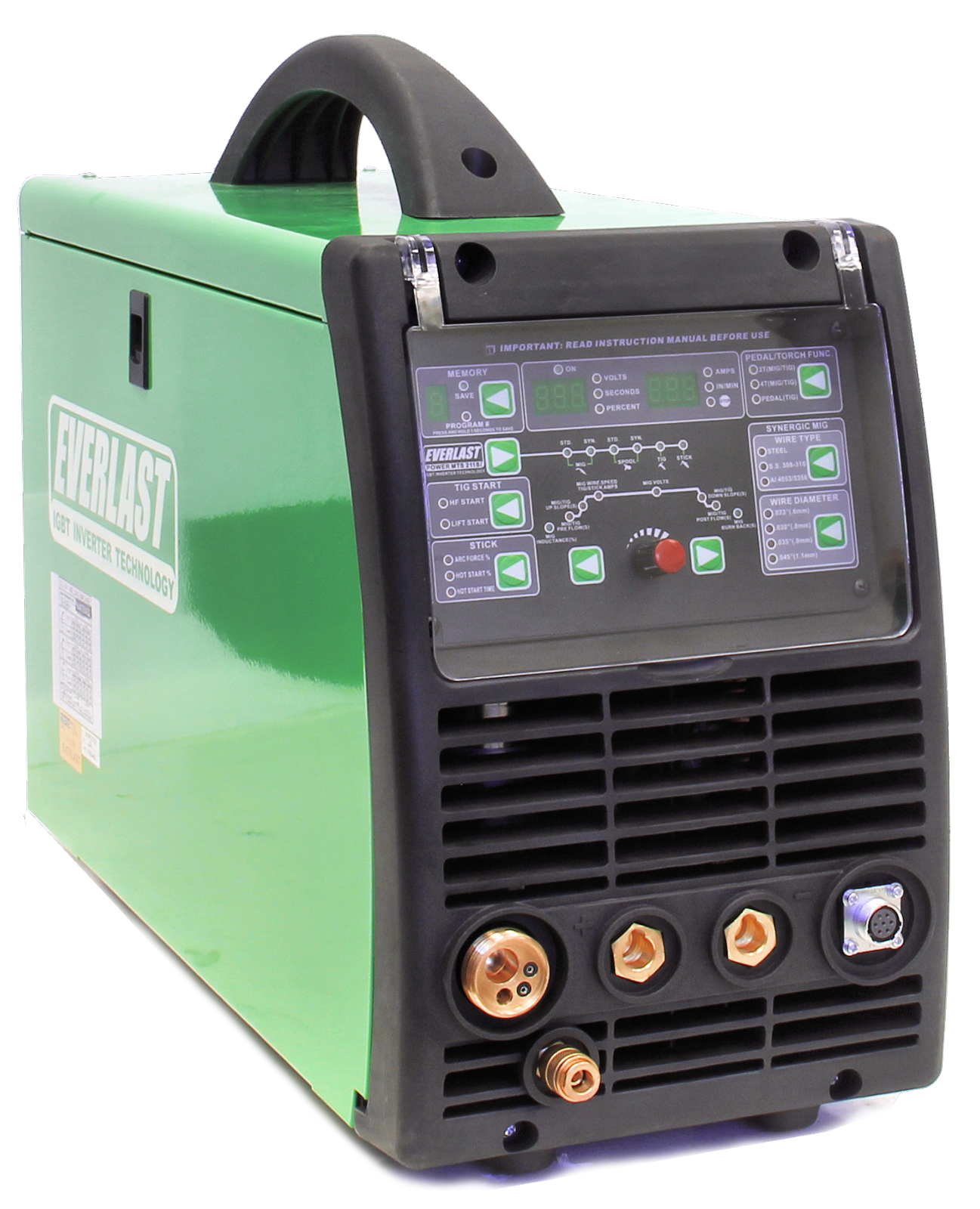 Powermts 211si With Tig Package Everlast Generators Mode Inverter Arc Welder Schematic On Igbt