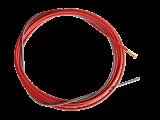 """Red Steel Liner .040""""-.045"""", 10ft / 3m"""