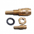 Gas quick connect 9mm Lincoln® style: Set
