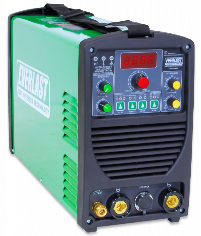 PowerTIG 185 (DV) - TIG Welders | Everlast Generators
