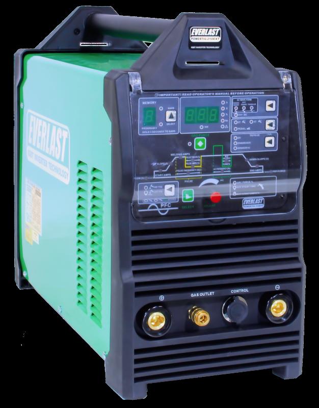 PowerTIG 210 EXT - TIG Welders | Everlast Generators
